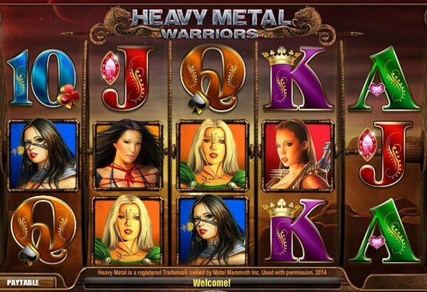 Heavy Metal Warriors Slot Review Covering Different Features